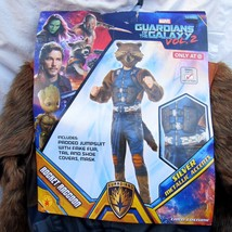 Guardians of the Galaxy Boys Rocket Raccoon Costume Cosplay Size 4-6 Age... - $24.69