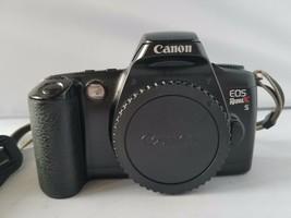 Canon EOS Rebel XS SLR Camera Bundle Accessories Carry Case Quantaray Flash - $39.59