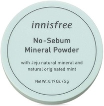 Innisfree No Sebum Mineral Powder 5g 0.17oz - $72.59