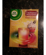 Frosted Vanilla Cupcake Delight Candle 4.23 oz  Air Wick Enchanted Holiday - $12.82