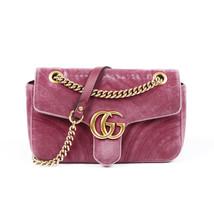 Gucci Small Marmont Matelasse Velvet Shoulder Bag - $1,205.00