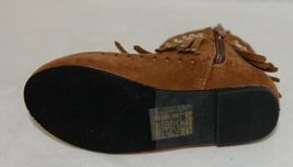 I Love Yo Kids AVA 78K Girls Fringe Boot Rust Silver Studded Size 11 image 6