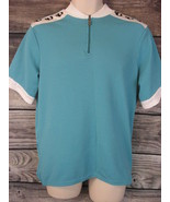 Pearl Izumi Technical Wear XL Teal Green Cycling Jersey - $19.55