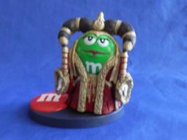 2005 Star Wars Chocolate Mpire Queen Amidala M&M's Action Figure Hasbro - $9.99