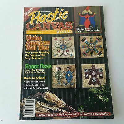 Plastic Canvas World Magazine September 1997 Volume 6 Number 5 - $5.22
