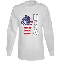 Fight Power Usa Long Sleeve T Shirt image 7