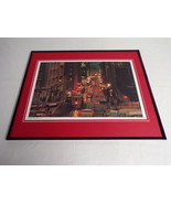 VINTAGE 1978 Powell Street Cable San Francisco Framed 16x20 Poster Display - $74.44