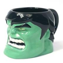 Marvel Avengers 3-D Incredible Hulk Sculptured Ceramic Coffee Mug Disney Store - $16.66