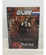 """G.I. Joe Zartan Mini Statue 6"""" 33/1200 - Palisades Toys 2003 FS - $23.22"""