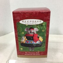 2000 Christmas Belle Porcelain Hallmark Christmas Tree Ornament MIB Price Tag H2 - $18.32
