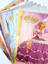 Vintage Complete12 Month Lovely Barbie/Doll Crochet Patterns The Cotilli... - $42.56