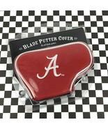 Alabama Crimson Roll Tide Embroidered NCAA Licensed Golf Club Putter Bla... - $14.13