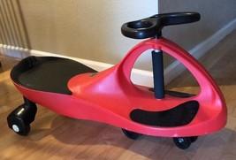 Plasma Car Riding Push Toy, Red - $14.84