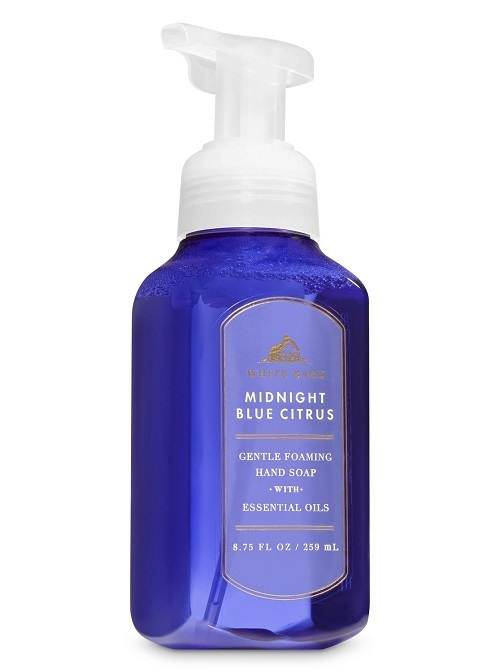 Bath & Body Works White Barn Midnight Blue Citrus Foaming Hand Soap 3 Pack