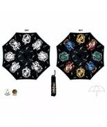 Harry Potter Hogwarts Crest Liquid Reactive Color Changing Umbrella - $24.95