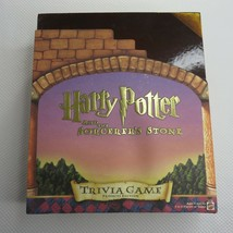 Harry Potter and the Sorcerer's Stone Trivia Game Prefects Edition Compl... - $49.45