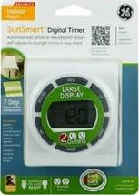 Ge Sunsmart 7 Tage Digital Timer Großes Display Weiß Modell 15079 Neu, B... - $13.03