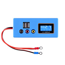 LCD Digital 12V Battery Tester Vehicle Car Acid Lead Storage Battery Vol... - $19.20
