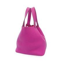 HERMES Picotin Lock MM Taurillon Clemence Magnolia Handbag #C France Aut... - $3,454.60