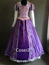 Custom-made Rapunzel Embroidered Dress, Princess Rapunzel Embroidered Costume - $179.00