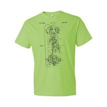 Cherry MX Keyboard Switch T-Shirt Patent Art Gift Cherry Mx T-shirt Cher... - $18.95+