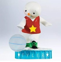 HALLMARK Ornament BASKETBALL SUPERSTAR Personalized NEW - FREE SHIPPING - $19.95