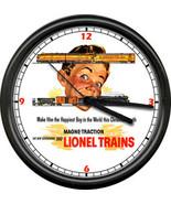 Lionel Train Cars Set Retro Conductor Railroad Retro Advertising Sign Wa... - $21.12