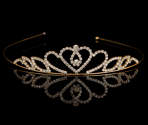 Primary image for Girls Crown Hair Accessories Tiara Headband Hair Band Shiny Glitter Rhinestone P