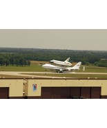 Space Shuttle Endeavour on a Boeing 747 lands at Air Force base - New 8x... - $8.81
