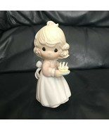 Precious Moments May Your Birthday Be A Blessing 524301 Figurine 1990 - $39.99