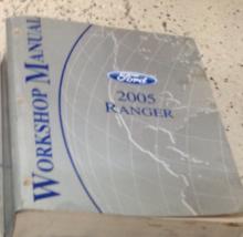 2005 Ford Ranger Camion Servizio Negozio Officina Riparazione Manual OEM... - $59.45