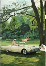 Ford (Yellow) Thunderbird Vintage '60'S National Geographic Ad - $2.96
