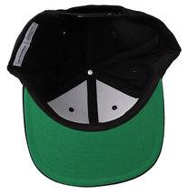 New Akomplice Black Flamingo Mob Est. 2004 Label Patch Snapback Baseball Hat image 7