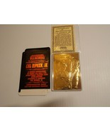 Cal Ripken Jr 1995 Bleachers 23 Kt Gold Card w/ COA - Baltimore Orioles  - $4.99