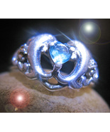 HAUNTED RING CHARMED LOVE RELATIONSHIP 1000 WITCHES OF THE HIGHEST ORDER... - $222.77