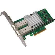 Intel X520-DA2 10Gigabit PCI-E Dual Fiber Optical Ethernet Server Adapte... - $131.42