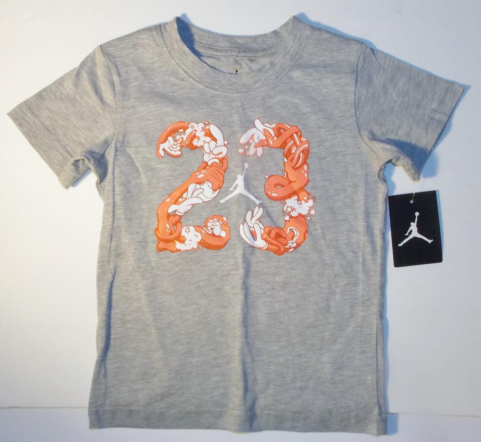 2cd3d420d8b09a Air Jordan Nike Boys T-Shirt 23 Jumpman Logo and similar items