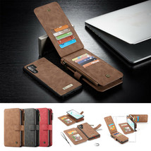 For Samsung S20Plus S20 Note 20Ultra Leather Wallet Flip Magnetic Back Cover - $97.37