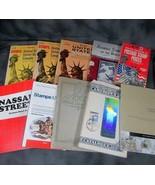5 Vintage Harris Catalogs, Nassau Street, Alpha Stamp Book, 1986 Ameripe... - $19.39