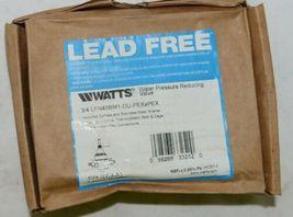 Watts 3/4 Inch Water Pressure Reducing Valve LFN45BM1 Lead Free image 8