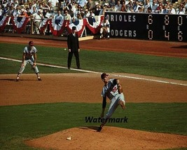 MLB 1966 Jim Palmer  Baltimore Orioles Game Action Color 8 X 10 Photo  F... - $8.99