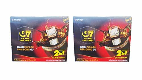 Primary image for Trung Nguyen G7 Real 2-in-1 Special Coffee Mix (2 Packm Total of 480g)