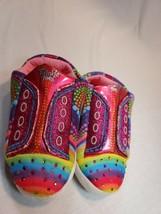 Skechers Twinkle Toes Kids Slippers Size 2-3 Large - $8.50