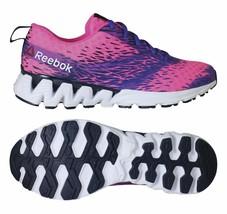 Reebok Girls Grade School ZigKick Sierra Shoe Pink Size 7 #NGSTP-252 - $42.49