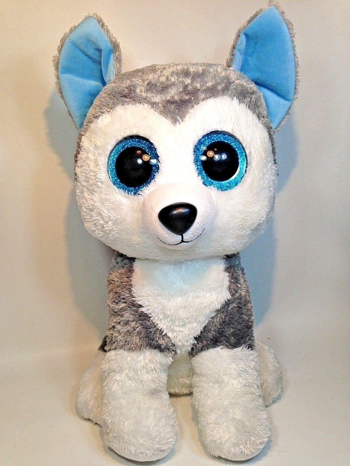 "2011 Gen Tags MINT with MINT TAGS Ty Beanie Boos ~ SLUSH the 6/"" Husky Dog"
