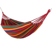 WolfWise Outdoor Leisure Double 2 Person Cotton Hammocks 450lbs Ultralig... - $19.62