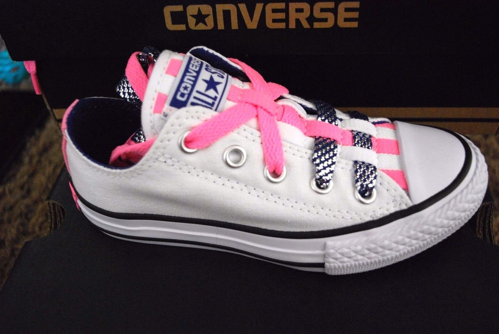 24a921626b3552 New Converse Chuck Taylor All Star Ox White and 50 similar items. S l1600