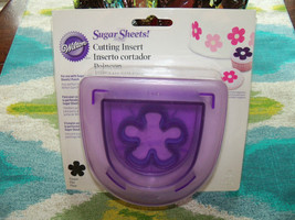 Wilton Sugar Sheets Flower Cutting Insert NEW LAST ONE - $18.63