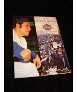 1973 World Series Souvenir Program Yankees A's Shea Stadium - $28.99