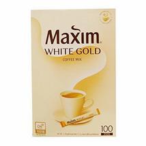Kim Jonah CF of coffee / Korea coffee [MAXIM coffee] White Gold coffee m... - $31.67